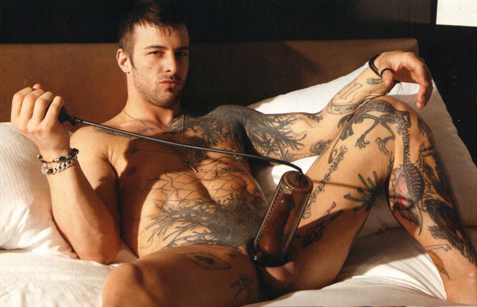 For nick hawk playgirl nude that
